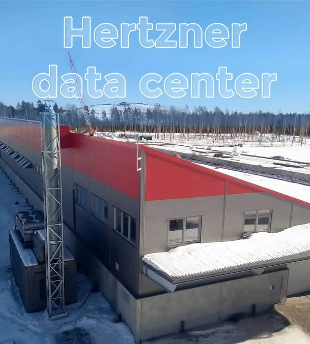 Hertzner data center