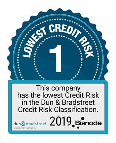 dnb lowest credit risk 2019